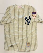 YOGI BERRA AUTHENTIC MITCHELL & NESS NEW YORK YANKEES 1951 HOME JERSEY SIZE 48