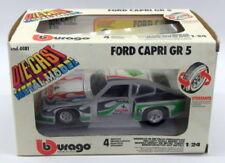 Modellini statici di auto da corsa bianchi Burago per Ford