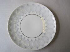 Teller Rosenthal Porzellan Lotus Ballett Platin. Dessert Brot u. a. 19 x 2 cm