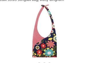 Envirosax Slingsax Bag Crossbody Daisy Gingham New