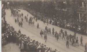 Ansichtskarte Frankfurt   Deutsches Turnfest 1908  Umzug