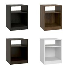 Night Stand Bed Room Side Table End Storage Open Shelf Book Case Printer Lamp TV