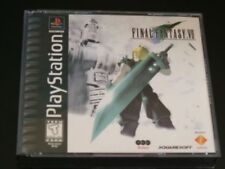 Final Fantasy VII 7 Black Label PS1 PlayStation NEW COMPLETE MINT+