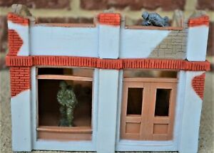 Toy Soldiers of San Diego TSSD Painted WWII Destroyed Berlin Building TS204