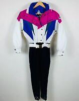 Vintage Womens Ski Suit Size 8 No Limits Australia Retro 90s Colours One Piece