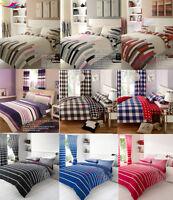 8PCS BUMPER set With Pillow Case Quilt Cover Bed Duvet Cover Sheet Curtains lot
