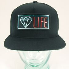 "DIAMOND SUPPLY ""NEON"" SNAPBACK Black"