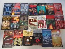 BIG Lot of (20) DOUGLAS PRESTON LINCOLN CHILD Thriller Books PENDERGAST SERIES