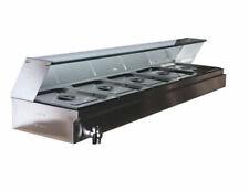 1 Pc Food Warmer 5 Pans(5*1/2 pan) Full Stainless Food Warmer Machine #190019