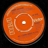 HARRY NILSSON All I Think About Is You Vinyl 7 Inch RCA Victor PB 9104 1977 EX