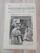 Journal illustré 1909  - Veillées des Chaumières - 21 Août - Dans l'Ornière...