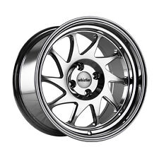15x8 +20 Whistler KR7 4x100 Chrome Wheel Fit Tercel Mirage Xa Xb Jetta Civi SI