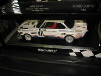MINICHAMPS APEX 1.18 1976 LeMANS BMW 3.5 CSL BROCK MUIR AUBRIET #46 TEAM BROCK