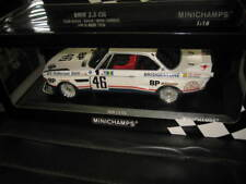 MINICHAMPS APEX 1.18 1976 LeMANS BMW 3.5 CSL BROCK MUIR AUBRIET #46 TEAM BROCK