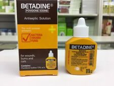 BETADINE Antiseptic Povidone  Iodine Solution 15ML UK SELLER