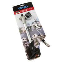 GIYO 300psi GS02D Bike Air Supply Foldable Fork/Shock Mini Pump w/ Lever Gauge