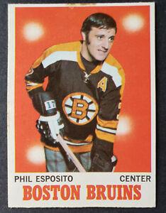 1970-71 OPC #11 Phil Esposito
