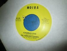 FABULOUS COUNTS: Dirty Red / Scrambled Eggs 45 ON MOIRA RECORDS SCARCE Funk EXC