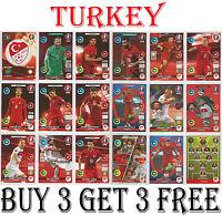 406-423 TURKEY Euro 2016 Panini Adrenalyn cards
