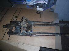 Harley Davidson  hummer lightweight 1949 S 125 girder rubber band front forks