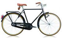 """Bicicletta CLASSICA 28"""" LEGNANO """"R"""" L100 BACCHETTA 1 V UOMO NERA VIAGGIO RETRO'"""