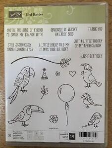 Stampin' Up! Bird Banter photopolymer stamp set BNIB