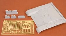 SBS Model 1/35 resin T-72M early front hull armour set for Tamiya SBS35006