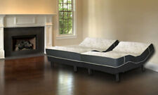 """13"""" Split King Hybrid Latex Royale Leggett Platt Prodigy + 2.0 Adjustable Bed"""