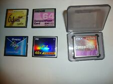 5 x Compact Flash (CF) Cards formatted for Psion Series 5 and 7 PDAs