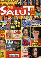 Magazine SALUT n°118, STAR AC'4, Alyssa MILANO, David CHARVET, JENIFER, LORIE