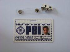 Agent Fox Mulder ID - Karte aus der Serie Akte X , ID Badge , Special Agent , W