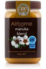 5 x 500g New Zealand AIRBORNE PURE MANUKA HONEY 25+ ***BEST PRICE GUARANTEE***