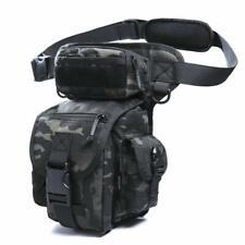ANTARCTICA Waterproof Military Tactical Drop Leg Pouch Bag Cross Leg Rig Dark Ca