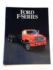 1985 ford f-series f-700 f-800 truck original 16-page