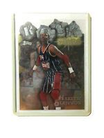 1997-98 Topps Rock Stars Hakeem Olajuwon Die Cut Foil Insert Mint looking card