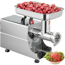 Meat Grinder 370w Stainless Steel Electric Mincer Sausage Maker/filler - Silver