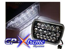 1 PR 7 x 6 H6054 H6052 LED CREE HID Black Seal Beam Headlights for Car Van Truck