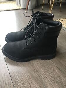 Timberland Black Boots Size 5 Waterville 6 Inch Womens