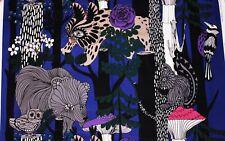 Marimekko cotton purple/lilac Veljekset / Maija Louekari 145x81cm (one repeat)