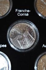Pièce 10 euros des régions argent 2010 Franche Comté sous capsule