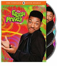 THE FRESH PRINCE OF BEL AIR - SEASON 6 (Will Smith) DVD - UK Compatible -sealed