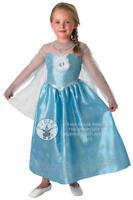 Deluxe Frozen Elsa Dress Girls Fancy Dress Disney Princess Kids Costume Outfit