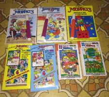 Vtg Sealed Lot 7 Muppets Magic Pen Painting Books Picture Puzzle Babies 80s 90s