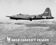 USAAF WW2 B-17 Bomber All American Fighter Collision 8x10 Photo 414th BS 97th BG