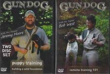 Gun Dog Training Puppy and Remote Training 2 Lot DVD NEW 3 Hours