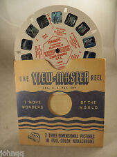 View-Master Reel DR-49, Preview Reel, Scenic Wonders USA, Single Reel