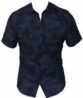 New G-Star RAW Mens Casual Shirt A Crotch Yoshem Work in Med Aged Colour Size S