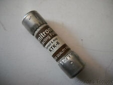 New Bussmann Limitron Fast Acting 6 Amp Midget Fuse, 600V or Less, KTK-6