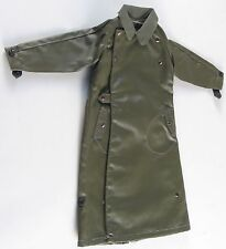 1/6 WW2 German Waffen SS Panzerkombi Tank Crew Officer Waterproof Great Coat