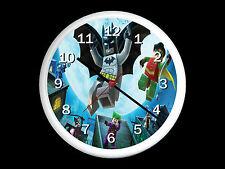 Lego Batman Wall Clock Can be Personalised